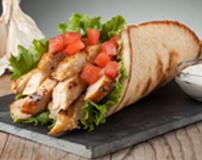 Chicken Strip Pita