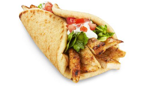 Marinated Chicken Pita