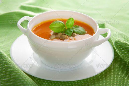 Chicken Mint Soup