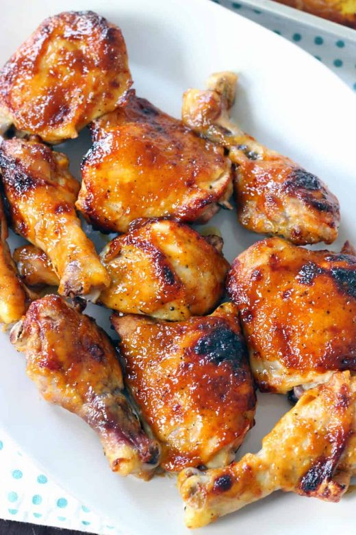 Broiled Marinated Chicken Breast Dinner