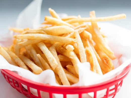 Broasted Potatoes or French Fries
