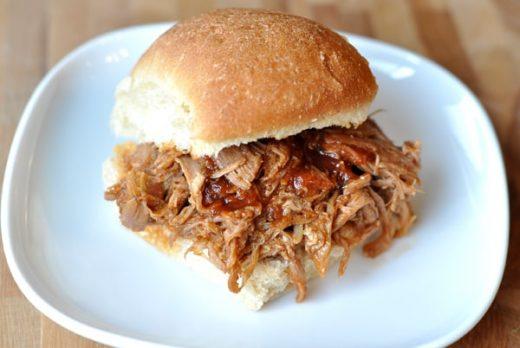 BBQ Pulled Pork Sandwich