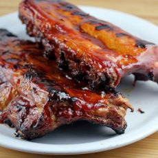 1/3 Slab BBQ Rib Dinner