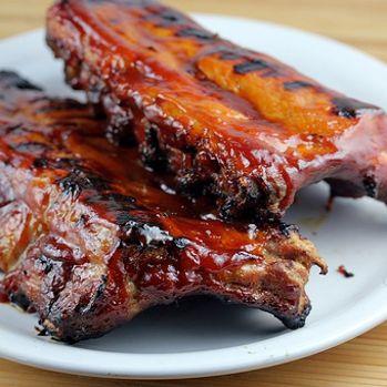 1/2 Slab BBQ Rib Dinner